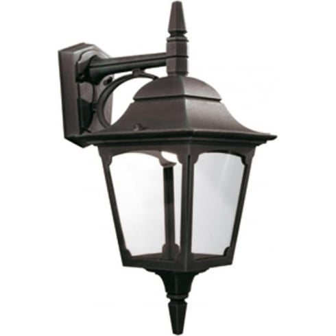 Elstead Lighting Chapel Down Outdoor Black Wall Lantern
