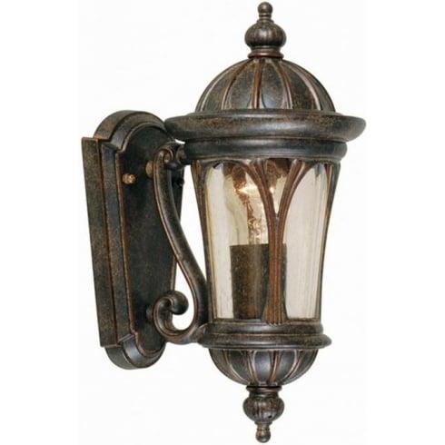 Elstead New England Outdoor Wall Lantern Bronze