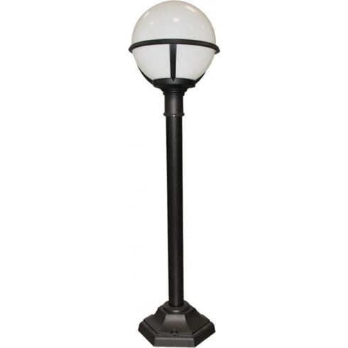 Elstead Glenbeigh  Outdoor Pillar Lantern Black