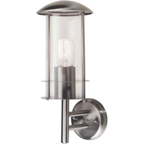 Elstead Lighting Bruges Stainless Steel Outdoor Wall Lantern