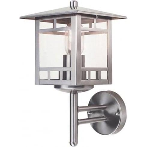 Elstead Kolne Outdoor Wall Lantern Stainless Steel
