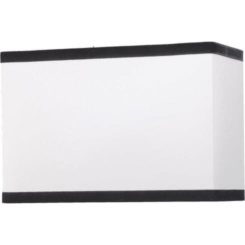 Elstead Lighting Off White Rectangular Shade 44cm