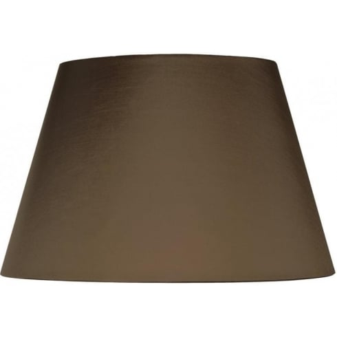 Elstead Lighting Brown Empire Shade With Gold Card Lining 51cm