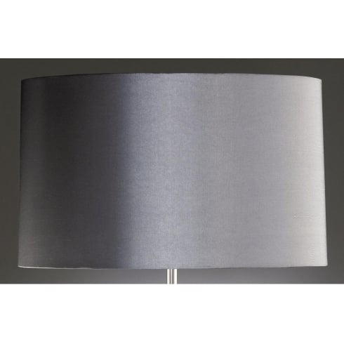 Elstead Lighting Dark Silver Cylinder Shade 38cm