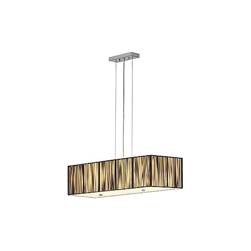 Intalite UK Lasson 155290 Square Black Pendant