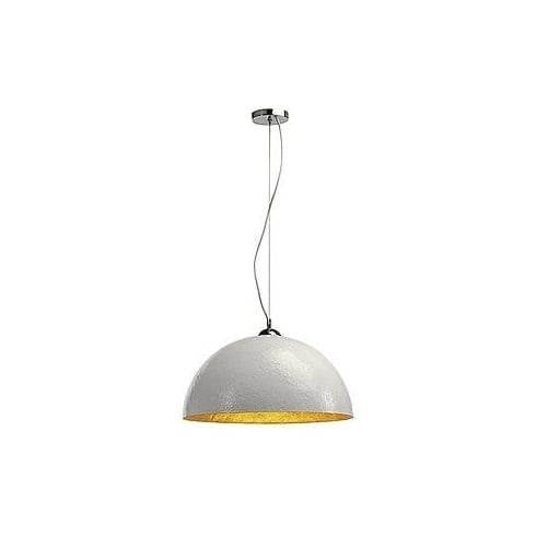 Intalite UK Forchini 155531 White & Gold Pendant