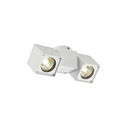 Intalite 151531 Altra Dice Spot 2 White Ceiling & Wall Light
