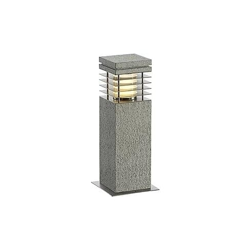 Intalite UK Arrock Granite 231410 Grey Granite Floor Lamp Small