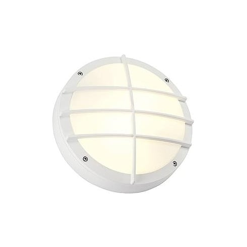 Intalite Bulan Grid 229081 Round White Wall Light