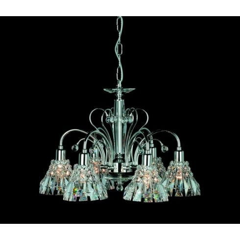 Impex Russell STRASBOURG CE00031/05/CH Polished Chrome Pendant
