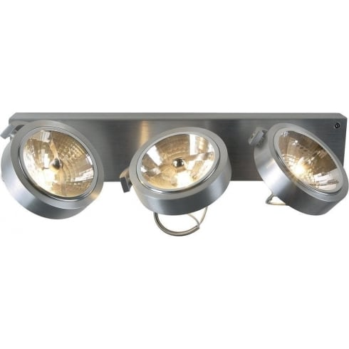 Intalite UK Kalu 147276 Aluminium 3 Light Wall & Ceiling Fitting