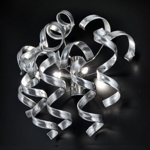 Metal Lux Astro 206.102.15 A315P Silver Wall Light