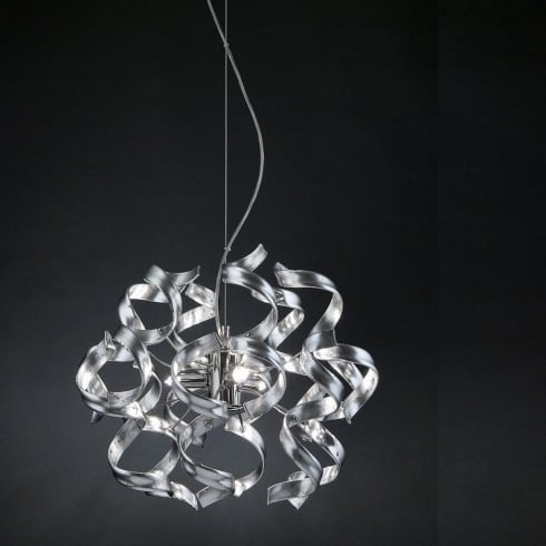 Metal Lux Astro 206.140.15 A410P Silver Ceiling Light