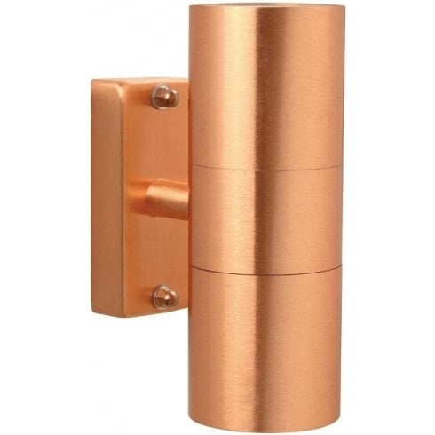 Nordlux Tin 2 x 4.5W LED 21271130L Copper Double Wall Light