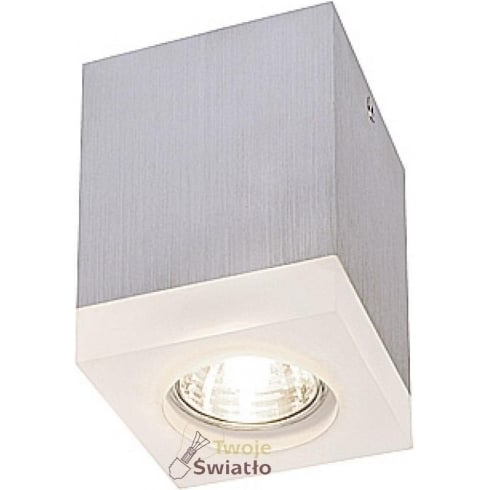 Intalite UK Tigla 114740 Satined Acrylic Square GU10 Downlight 230V