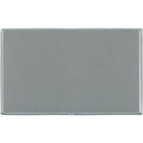 Hamilton Linea-Duo CFX LDBPDBC-SS Satin Steel Double Blank Plate