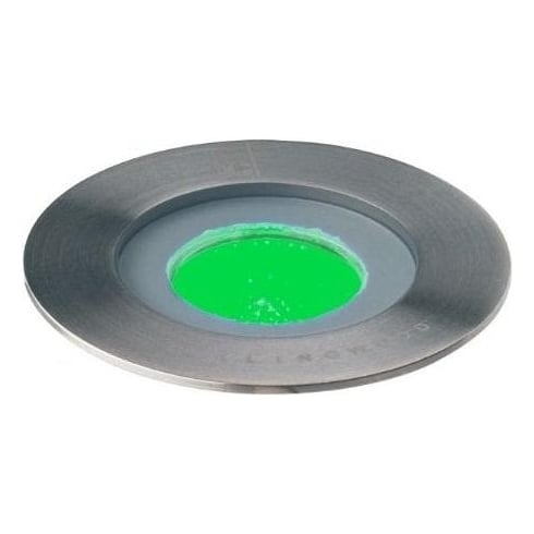 Collingwood Lighting GL016 F GREEN Stainless Steel LED Ground Light
