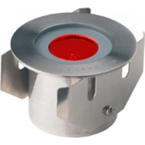 Collingwood GL016 F RED Stainless Steel LED Ground Light