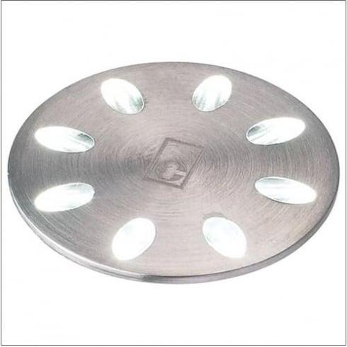 Collingwood ML01 WHITE Stainless Steel LED Ground Light Mini