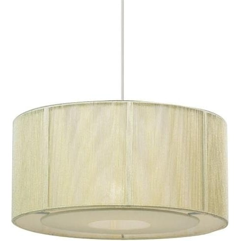 Endon Lighting NE-92-CR Cream String Pendant