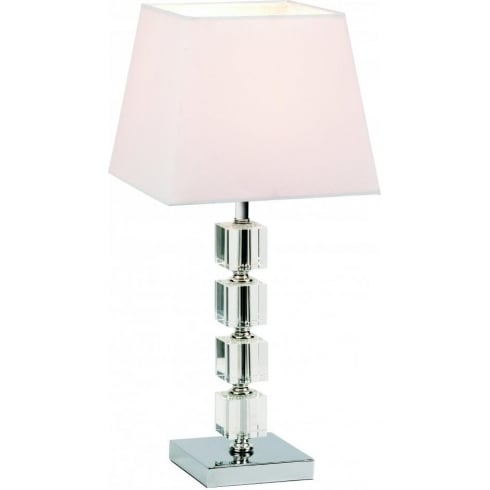 Endon 96940-TLCH Chrome Table & Desk Lamp