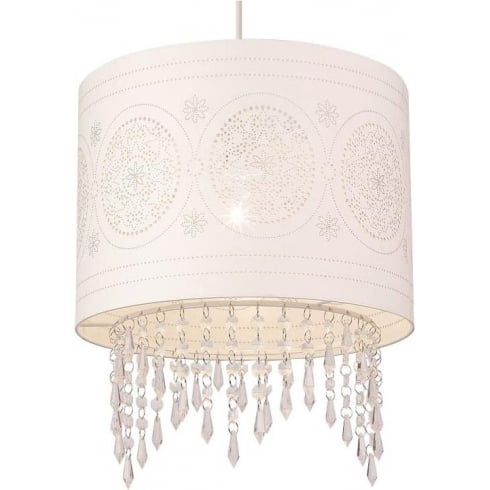 Endon Lighting NE-96063 Paper Decorated Pendant