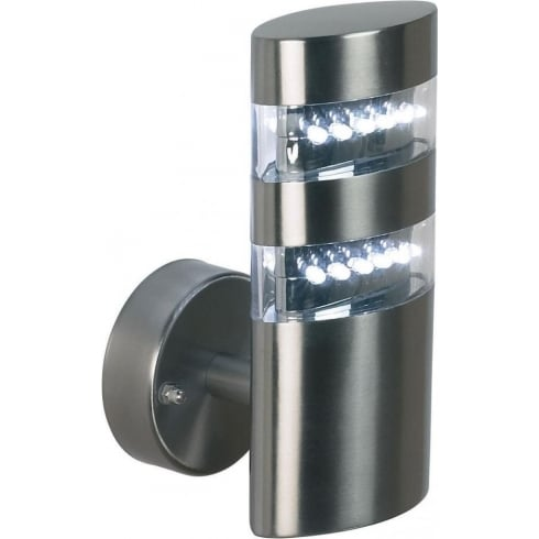 Endon Lighting YG-4000-SS Metal Wall Light