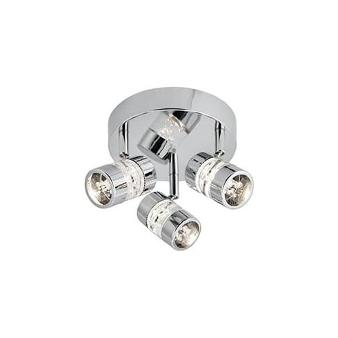 Searchlight Electric Bubbles 4413CC Chrome And Acrylic Bar Spotlight
