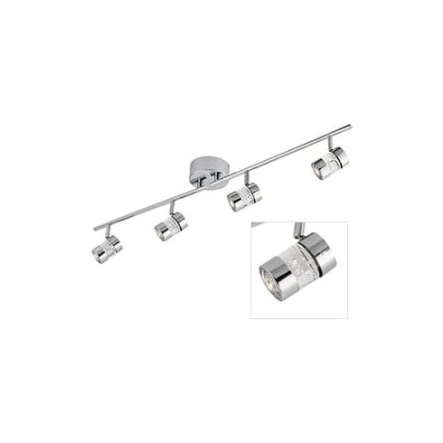 Searchlight Electric Bubbles 4414CC Chrome And Acrylic Spotlight