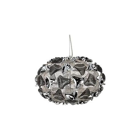Searchlight Electric Triangle 5803-3SM Chrome And Acrylic Pendant