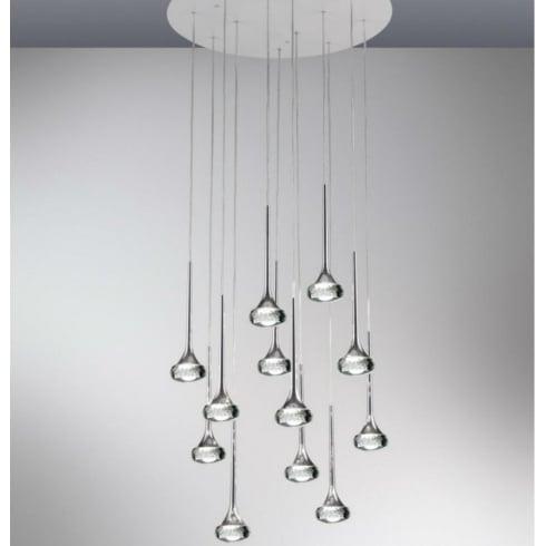 Axo Fairy SPFAIR12CSCRLED Crystal Pendant Ceiling Light