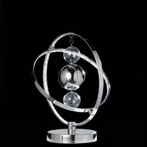 Endon Muni MUNI-TLCH Chrome Table Lamp