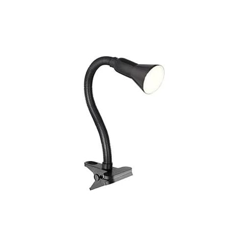 Searchlight Electric 4122BK Black Clip on Flexible Task Table Lamp