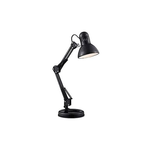 Searchlight Electric 2429BK Shiny Black Hobby Table Lamp