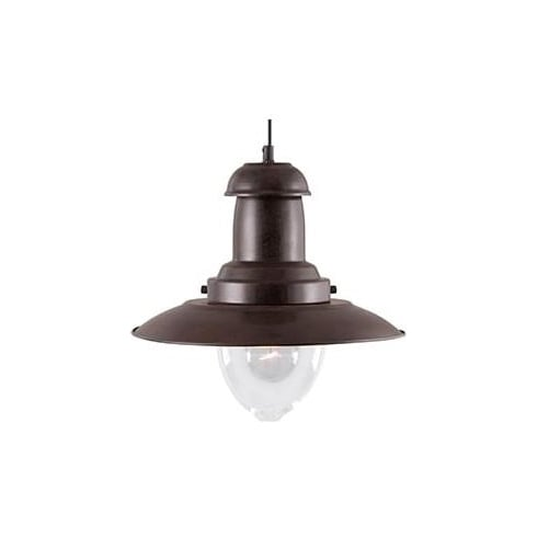 Searchlight Electric Fisherman 4301RU Rustic Pendant Ceiling Light