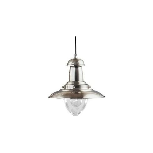 Searchlight Electric Fisherman 4301SS Brushed Silver Pendant Ceiling Light