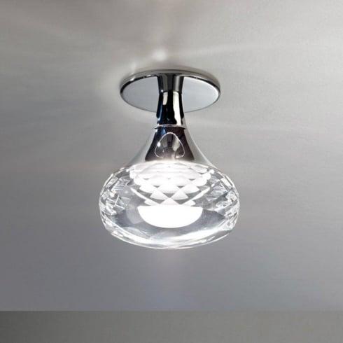 Axo Fairy PLFAIRYICSCRLED Crystal Semi Flush Ceiling Light