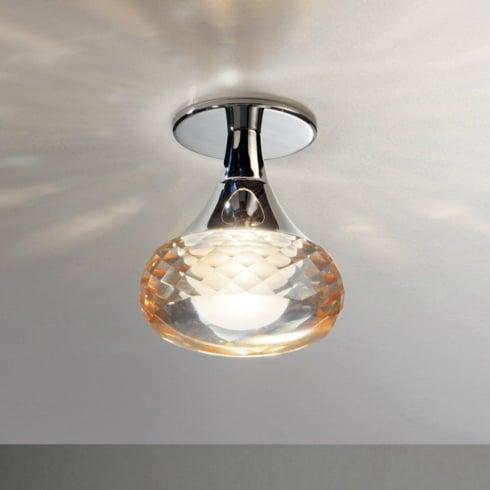 Axo Fairy PLFAIRYIAMCRLED Amber Semi Flush Ceiling Light