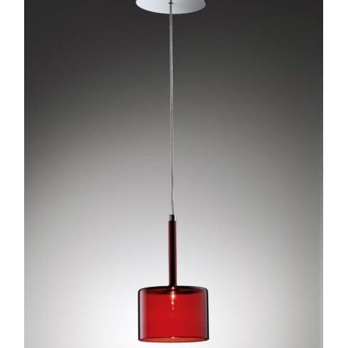 Axo Spillray SPSPILLGRSCR12V Red Pendant Ceiling Light