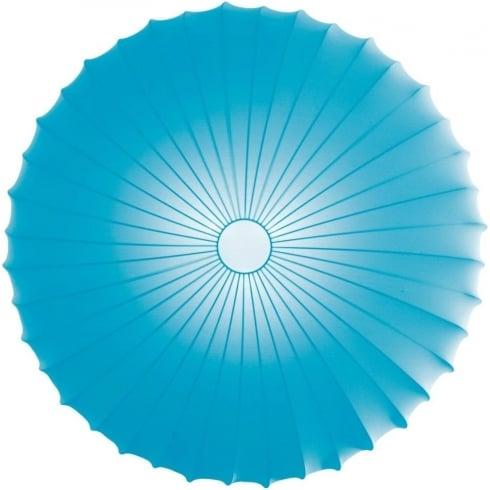 Axo Muse PLMUSE80AZXXE27 Light Blue Wall/Semi Flush Ceiling Light