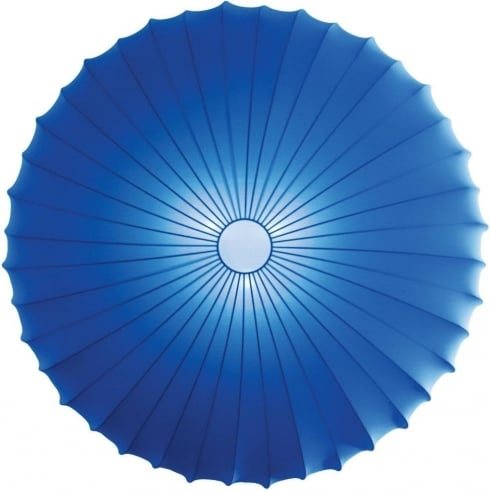Axo Muse PLMUSE80BLXXE27 Blue Wall/Semi Flush Ceiling Light