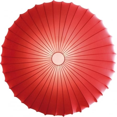Axo Muse PLMUSE80RSXXE27 Red Wall/Semi Flush Ceiling Light