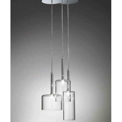 Axo Spillray SPSPILL3CSCR12V Crystal Pendant Ceiling Light
