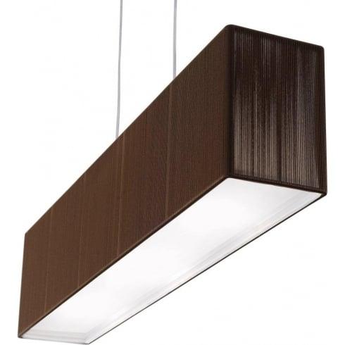 Axo Clavius SPCLAVIUTACRE27 Brown Pendant Ceiling Light