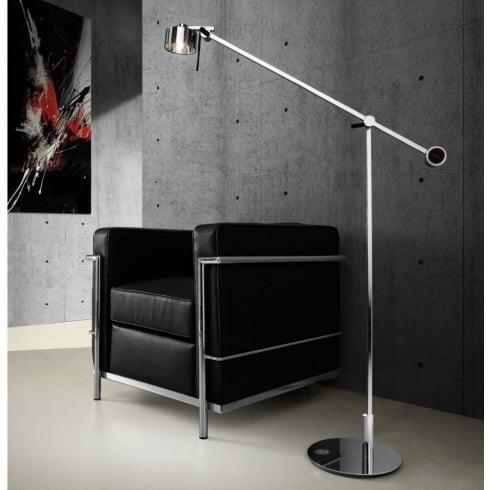Axo AX20 PTAX20XXXXCRG9X Chrome Floor Lamp