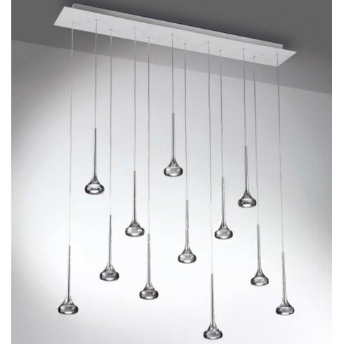 Axo Fairy SPFAI12RGRCRLED Grey Pendant Ceiling Light