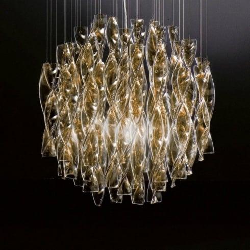 Axo Aura SPAURA60TAORE27 Brown Ceiling Light