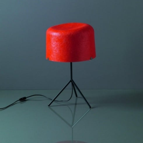 Karboxx Ola 09TV32F3 Red Table Lamp