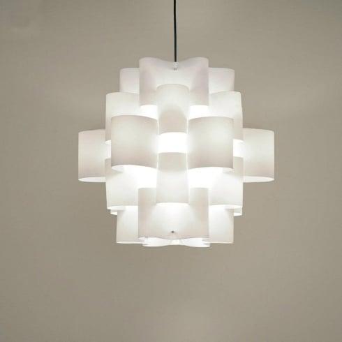 Karboxx Sun 50 05SPWH50S White Pendant Ceiling Light