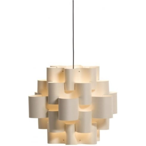 Karboxx Light Sun 50 05SPWH01 White Resin Pendant Ceiling Light